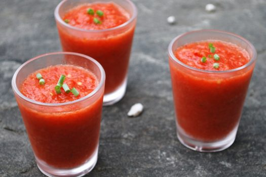 Easy and Fast Gazpacho