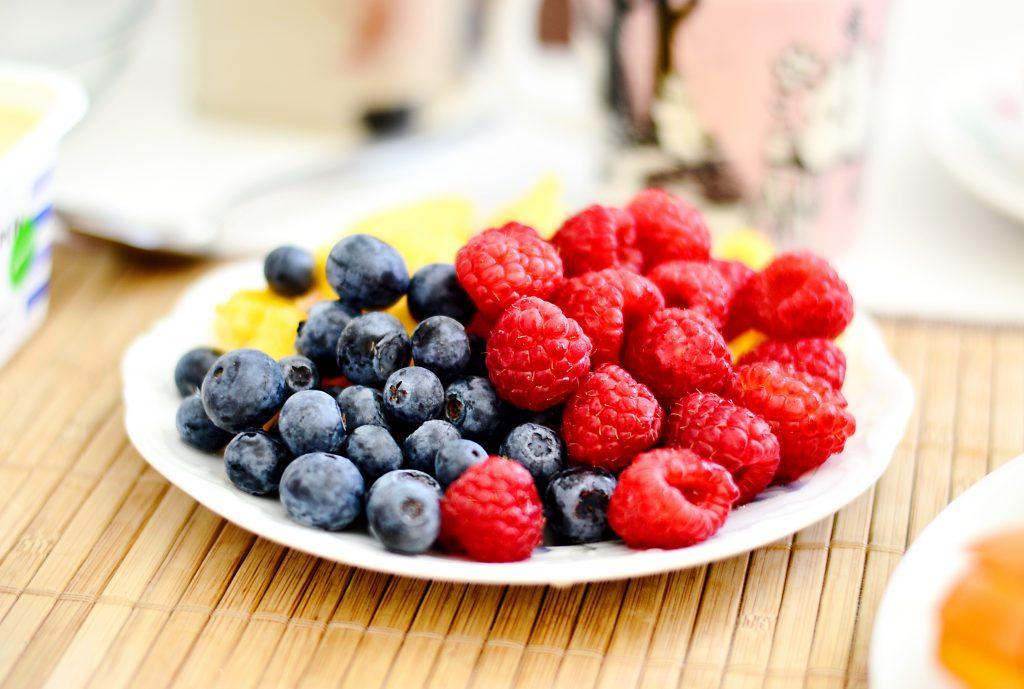 colorful berries